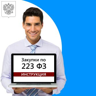Процедура размещения заказа на поставку продукции способом проведения аукциона по ФЗ № 223